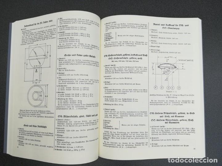 Libros: Libro Requisitos de producción de RZM para uniformes y equipos 1936, nazi hitler tercer reich - Foto 11 - 227762160