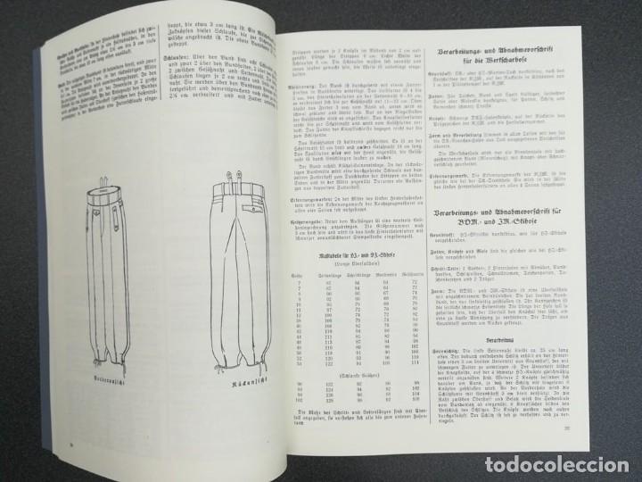 Libros: Libro Requisitos de producción de RZM para uniformes y equipos 1936, nazi hitler tercer reich - Foto 13 - 227762160