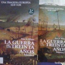 Libros: PETER H.WILSON.LA GUERRA DE LOS TREINTA AÑOS.1618/1648.(2 TOMOS).DESPERTA FERRO. Lote 228365693