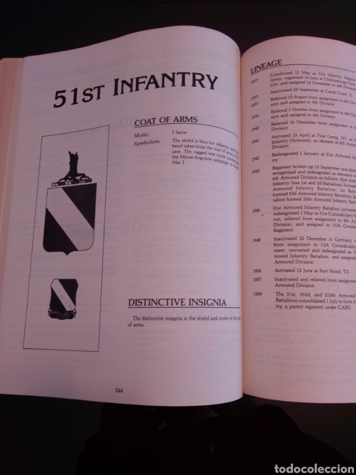 Libros: Infantry regiments of the US Army - Foto 3 - 230003820