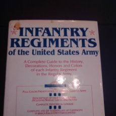 Libros: INFANTRY REGIMENTS OF THE US ARMY. Lote 230003820