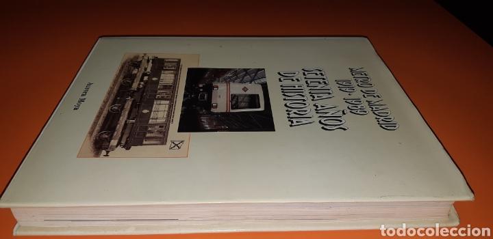 Libros: metro de Madrid 70 años de historia - Foto 2 - 230083060