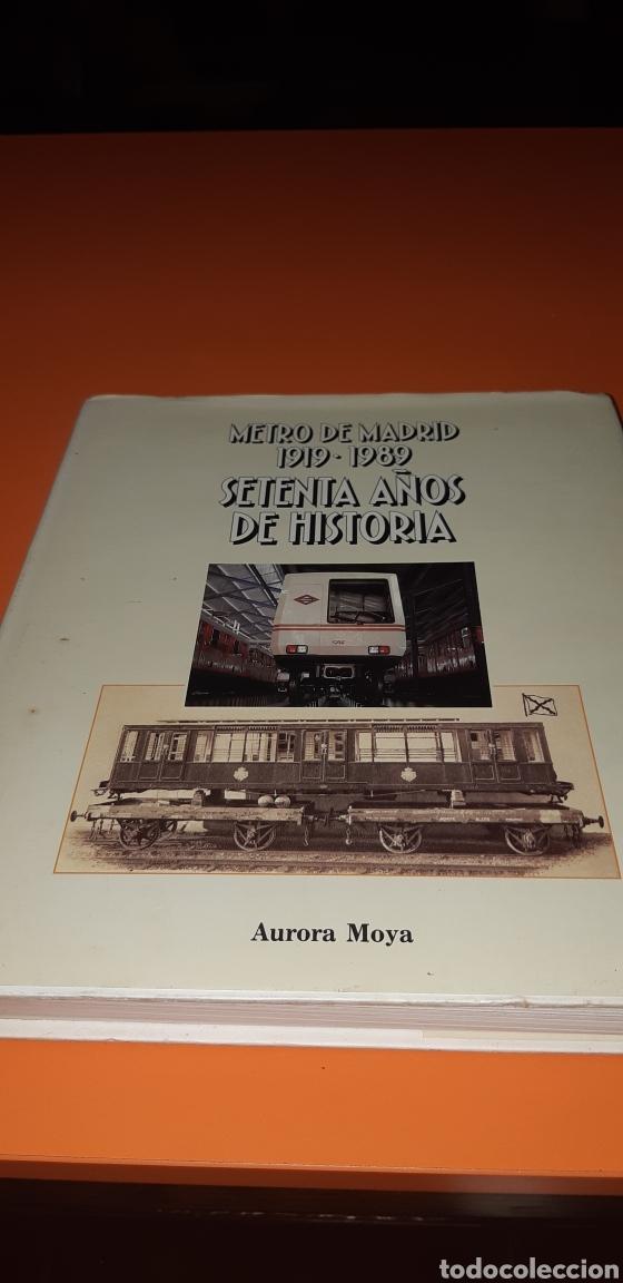 METRO DE MADRID 70 AÑOS DE HISTORIA (Libros Nuevos - Historia - Historia Moderna)