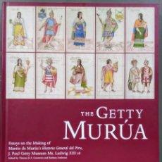 Livros: THE GETTY MURÚA. PEDRO DE MURÚA. HISTORIA GENERAL DEL PERÚ. ENSAYO SOBRE EL MANUSCRITO.. Lote 231597010