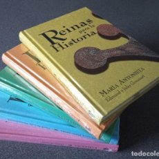 Libros: REINAS HISTORIA CLEOPATRA MARÍA ESTUARDO CATALINA LA GRANDE JUANA LA LOCA MARÍA ANTONIETA. Lote 232556442