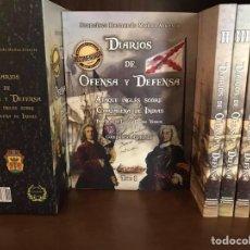 Livros: DIARIOS DE OFENSA Y DEFENSA 5 TOMOS. Lote 233167805