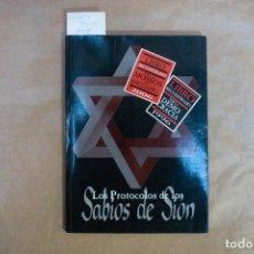 Livros: LOS PROTOCOLOS DE LOS SABIOS DE SION. Lote 228736652