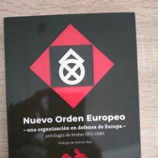 Livros: NUEVO ORDEN EUROPEO, RAMON BAU CEDADE. Lote 234655140