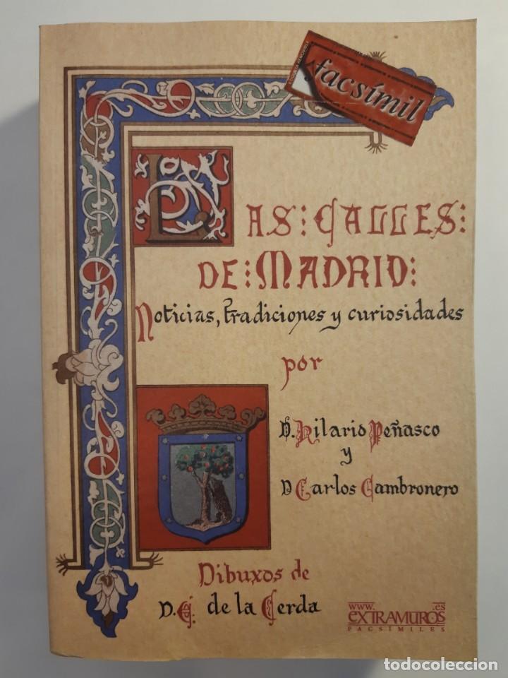 Libros: 13 facsímiles relativos a la historia de MADRID. Barrios Calles Plano Villa Corte Cocina madrileña - Foto 2 - 235590555