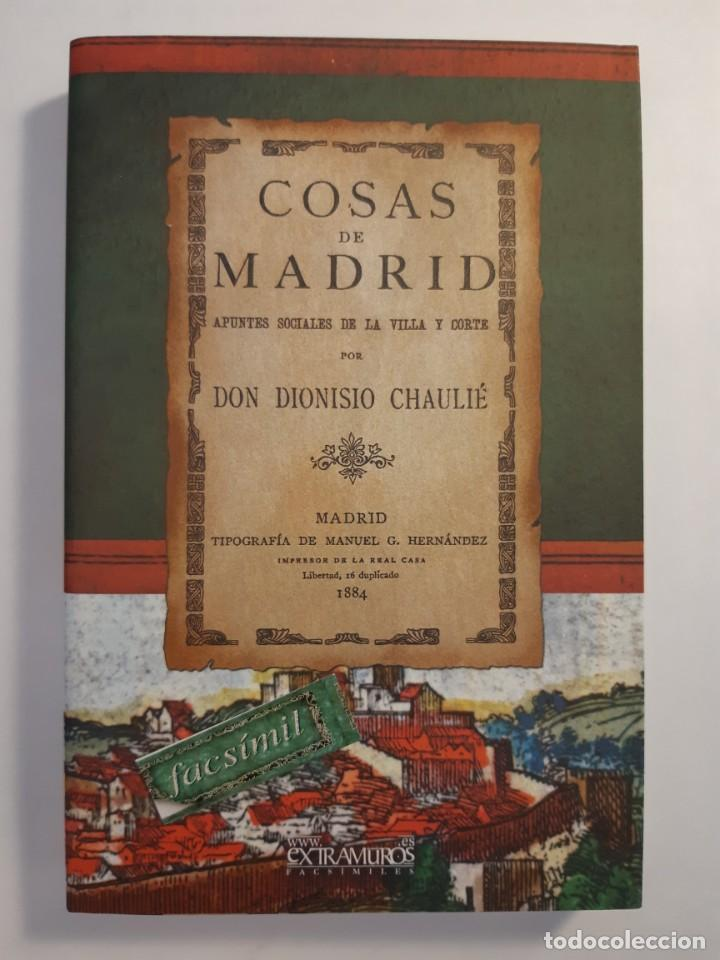 Libros: 13 facsímiles relativos a la historia de MADRID. Barrios Calles Plano Villa Corte Cocina madrileña - Foto 3 - 235590555