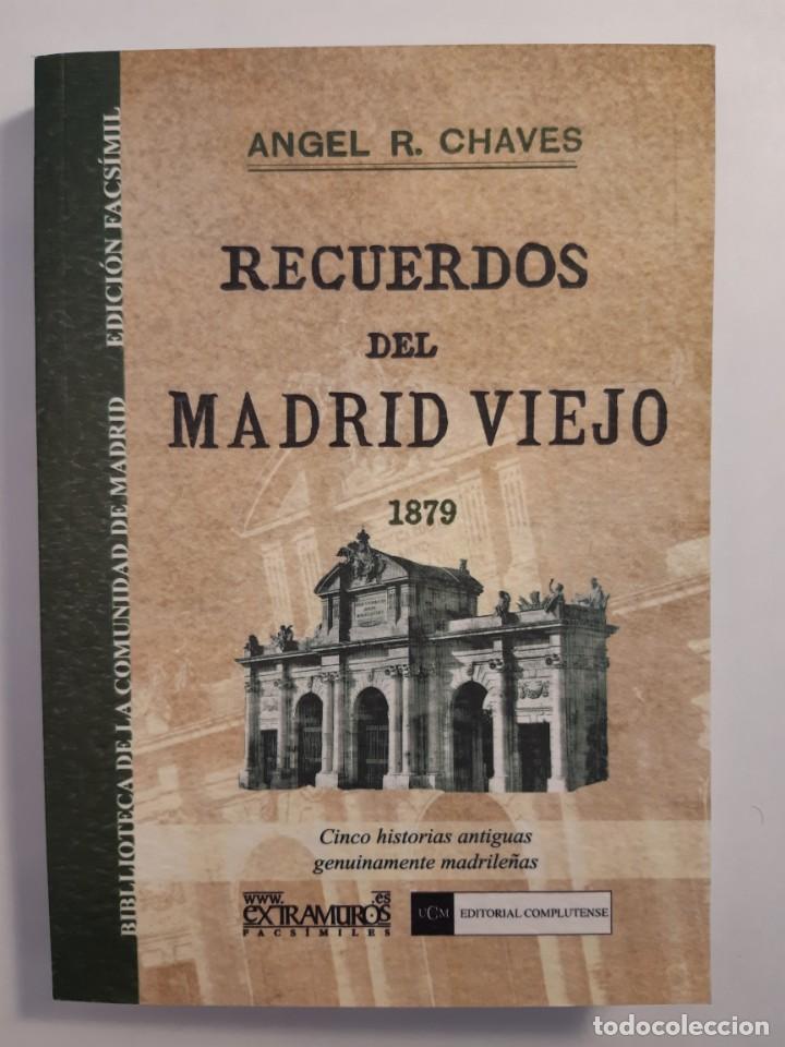 Libros: 13 facsímiles relativos a la historia de MADRID. Barrios Calles Plano Villa Corte Cocina madrileña - Foto 4 - 235590555