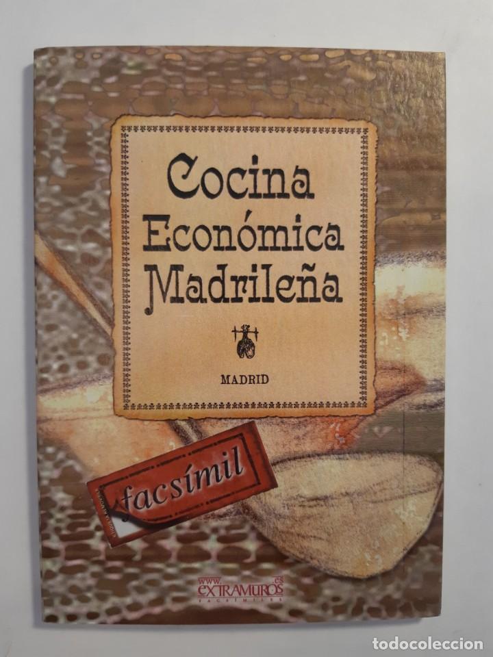 Libros: 13 facsímiles relativos a la historia de MADRID. Barrios Calles Plano Villa Corte Cocina madrileña - Foto 6 - 235590555