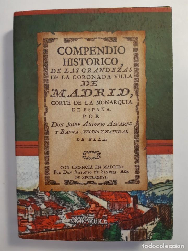 Libros: 13 facsímiles relativos a la historia de MADRID. Barrios Calles Plano Villa Corte Cocina madrileña - Foto 7 - 235590555