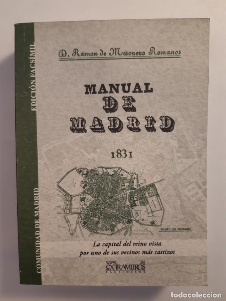 Libros: 13 facsímiles relativos a la historia de MADRID. Barrios Calles Plano Villa Corte Cocina madrileña - Foto 10 - 235590555