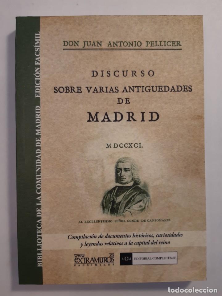 Libros: 13 facsímiles relativos a la historia de MADRID. Barrios Calles Plano Villa Corte Cocina madrileña - Foto 11 - 235590555
