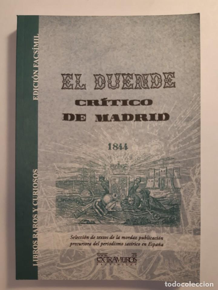 Libros: 13 facsímiles relativos a la historia de MADRID. Barrios Calles Plano Villa Corte Cocina madrileña - Foto 12 - 235590555