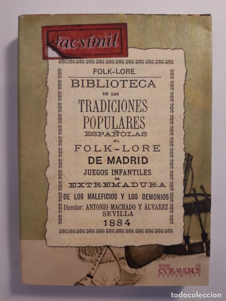 Libros: 13 facsímiles relativos a la historia de MADRID. Barrios Calles Plano Villa Corte Cocina madrileña - Foto 13 - 235590555