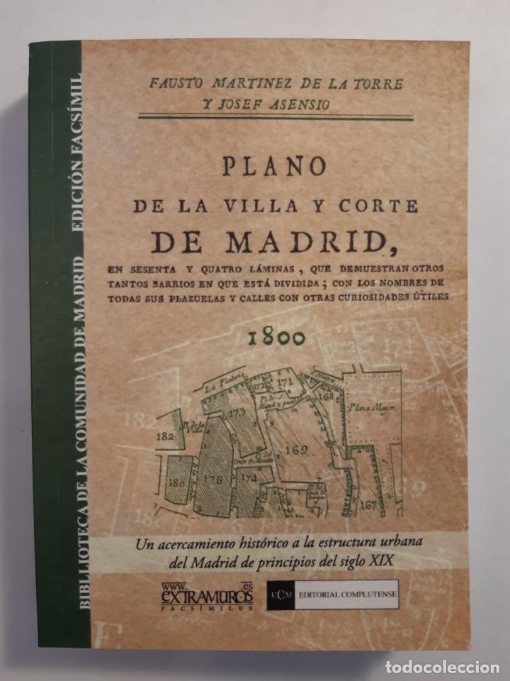 Libros: 13 facsímiles relativos a la historia de MADRID. Barrios Calles Plano Villa Corte Cocina madrileña - Foto 14 - 235590555