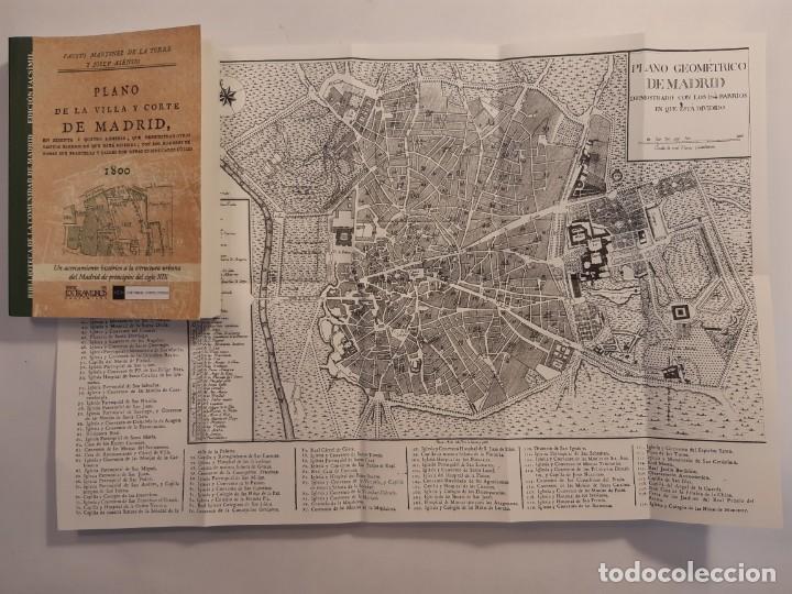 Libros: 13 facsímiles relativos a la historia de MADRID. Barrios Calles Plano Villa Corte Cocina madrileña - Foto 15 - 235590555