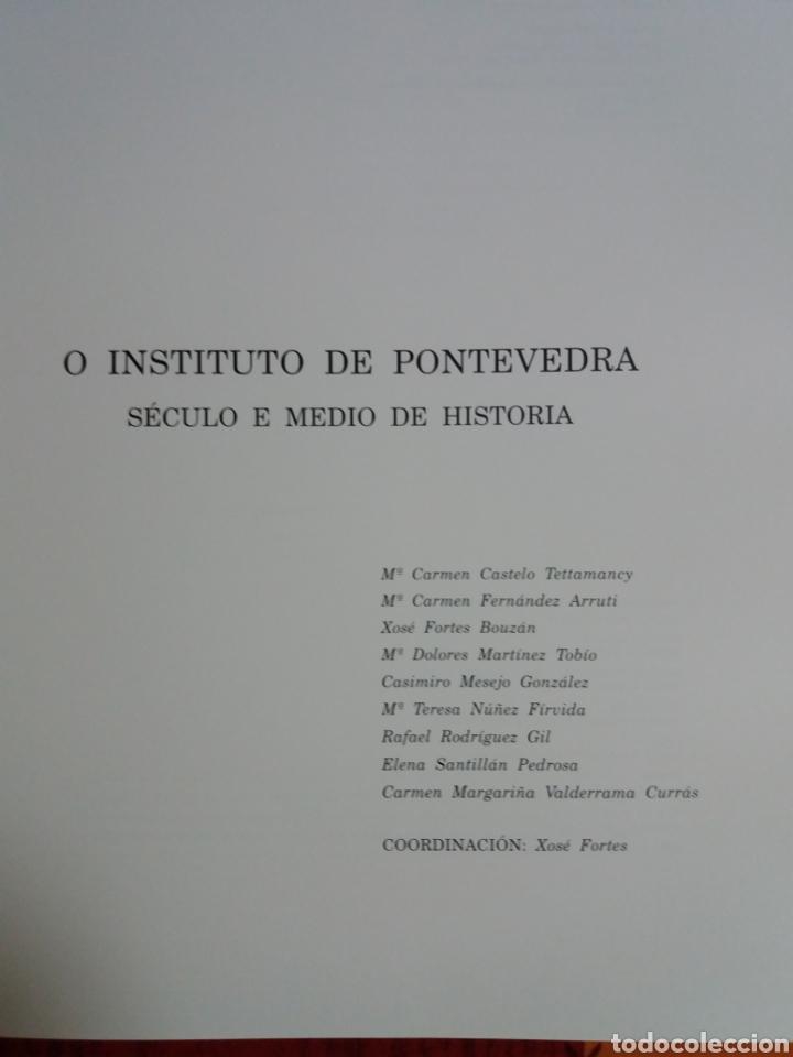 Libros: O instituto de pontevedra - Foto 3 - 237757440
