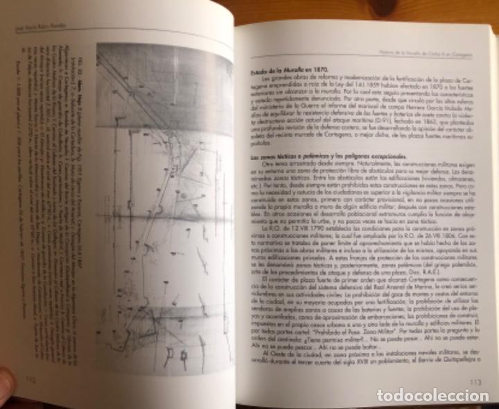 Libros: CARTAGENA- LA MURALLA DE CARLOS III- JOSE MARIA RUBIO PAREDES- 2001 - Foto 7 - 239646295