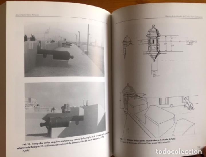 Libros: CARTAGENA- LA MURALLA DE CARLOS III- JOSE MARIA RUBIO PAREDES- 2001 - Foto 8 - 239646295