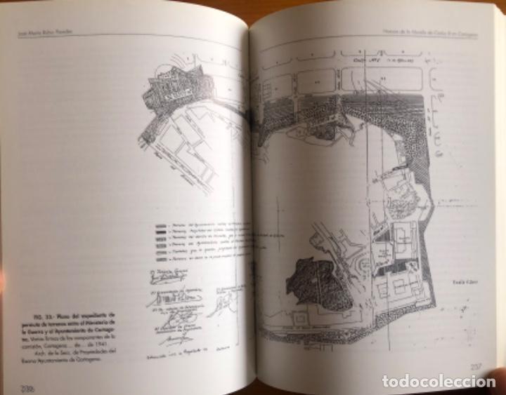 Libros: CARTAGENA- LA MURALLA DE CARLOS III- JOSE MARIA RUBIO PAREDES- 2001 - Foto 10 - 239646295