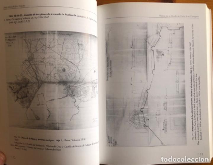Libros: CARTAGENA- LA MURALLA DE CARLOS III- JOSE MARIA RUBIO PAREDES- 2001 - Foto 11 - 239646295