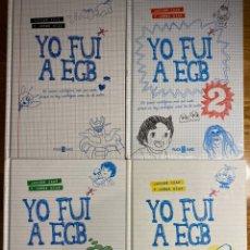 Libros: YO FUI A EGB COMPLETA. 4 LIBROS.. Lote 244731355