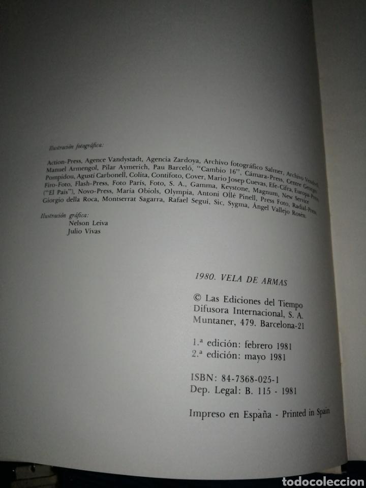 Libros: LIBRO ANUARIO 1980, VELA DE ARMAS, PERIODISMO,.. MÁS SINGLE CON TESTIMONIOS SONOROS, ED. DEL TIEMPO - Foto 5 - 246115495