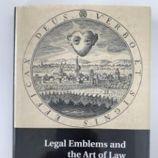 Libros: PETER GOODRICH, LEGAL EMBLEMS AND THE ART OF LAW, CAMBRIDGE UNIVERSITY PRESS, 2015. Lote 246242820