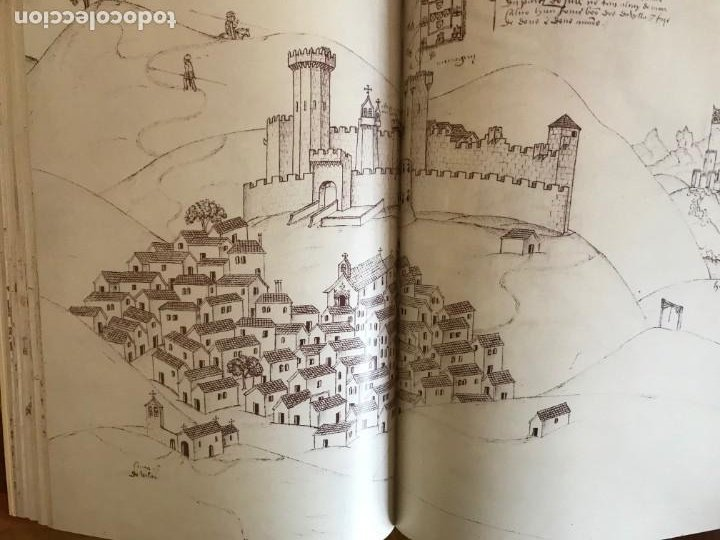 Libros: Livro de fortalezas Portugal, de Duarte de Armas. Edición facsimil de 2006 - Foto 7 - 252141395
