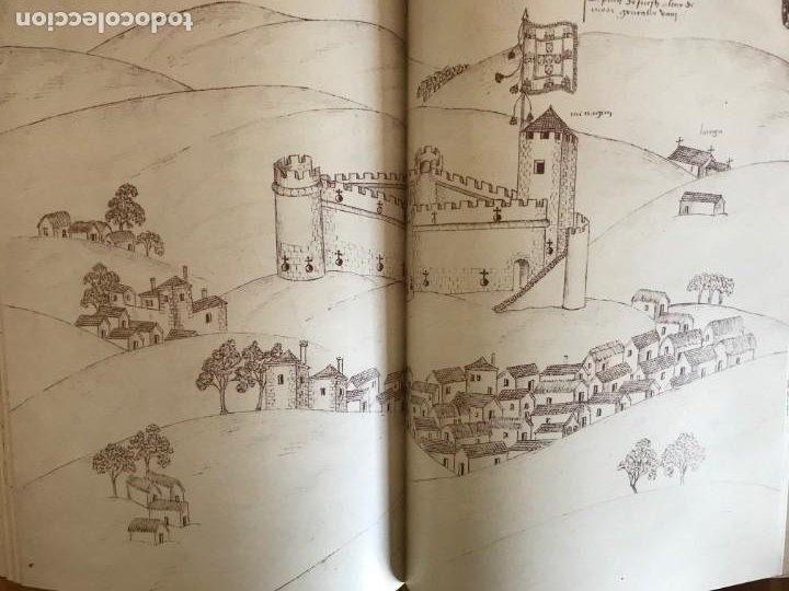 Libros: Livro de fortalezas Portugal, de Duarte de Armas. Edición facsimil de 2006 - Foto 8 - 252141395