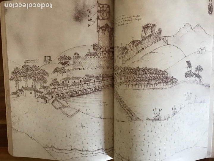 Libros: Livro de fortalezas Portugal, de Duarte de Armas. Edición facsimil de 2006 - Foto 9 - 252141395