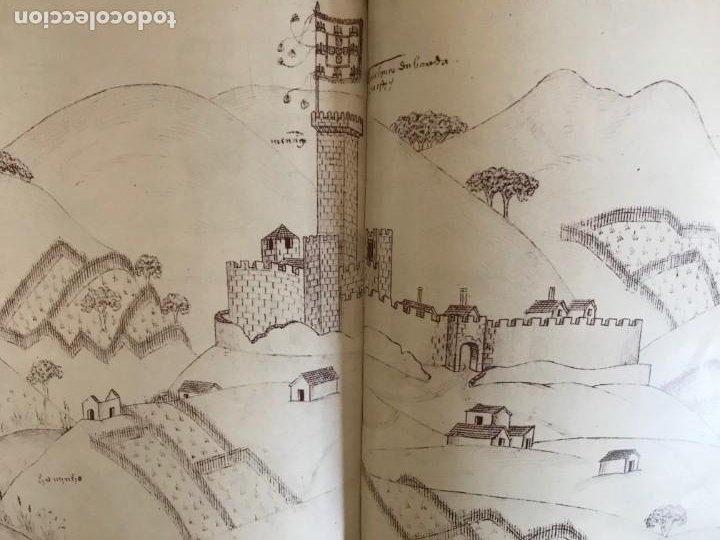 Libros: Livro de fortalezas Portugal, de Duarte de Armas. Edición facsimil de 2006 - Foto 10 - 252141395