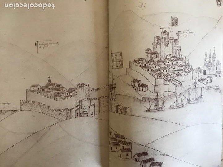 Libros: Livro de fortalezas Portugal, de Duarte de Armas. Edición facsimil de 2006 - Foto 11 - 252141395