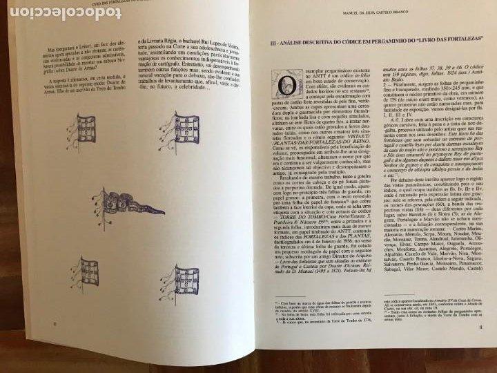 Libros: Livro de fortalezas Portugal, de Duarte de Armas. Edición facsimil de 2006 - Foto 4 - 252141395