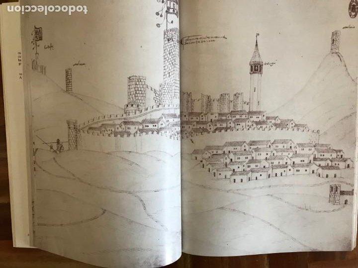 Libros: Livro de fortalezas Portugal, de Duarte de Armas. Edición facsimil de 2006 - Foto 12 - 252141395