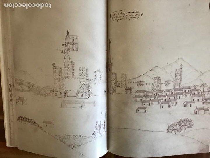 Libros: Livro de fortalezas Portugal, de Duarte de Armas. Edición facsimil de 2006 - Foto 14 - 252141395