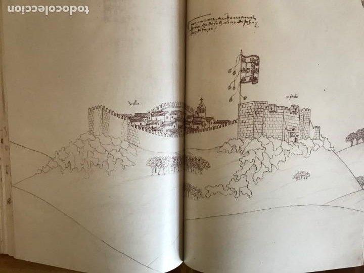 Libros: Livro de fortalezas Portugal, de Duarte de Armas. Edición facsimil de 2006 - Foto 5 - 252141395