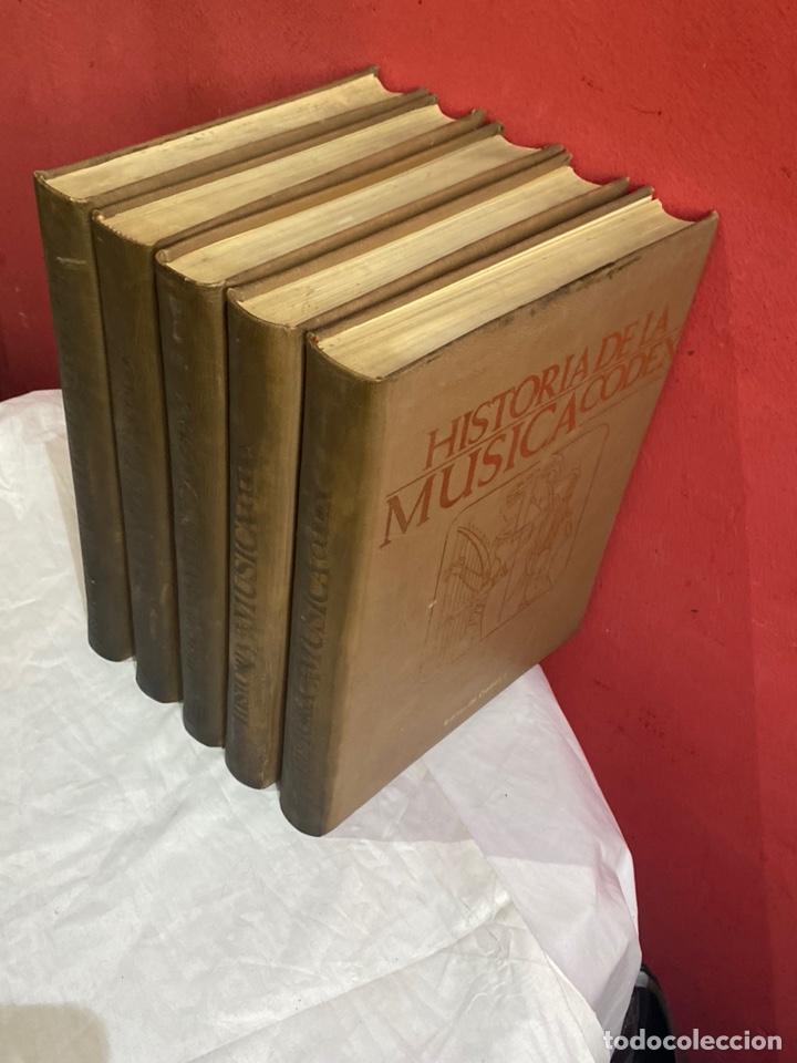 Libros: Historia de la musica coleccion completa editorial codex madrid 1967 5 tomos - Foto 3 - 253618680