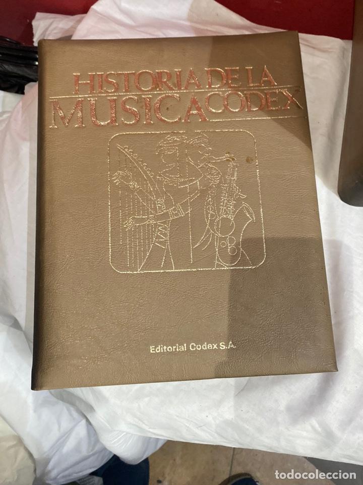 Libros: Historia de la musica coleccion completa editorial codex madrid 1967 5 tomos - Foto 4 - 253618680