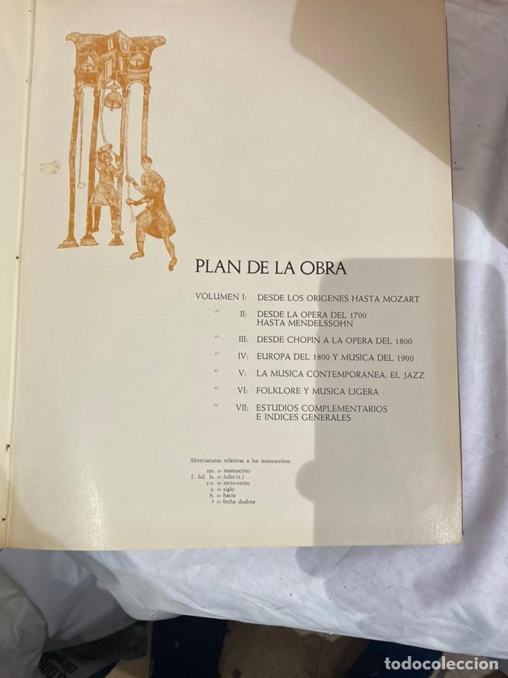Libros: Historia de la musica coleccion completa editorial codex madrid 1967 5 tomos - Foto 5 - 253618680