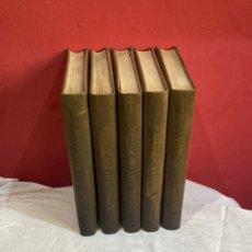 Libros: HISTORIA DE LA MUSICA COLECCION COMPLETA EDITORIAL CODEX MADRID 1967 5 TOMOS. Lote 253618680