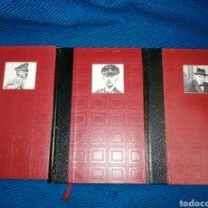 Libros: LOTE 3 LIBROS GRANDES ENIGMAS HISTÓRICOS DE NUESTRO TIEMPO, GRANDES ENIGMAS DE LA GUERRA SECRETA.. Lote 254822335