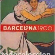 Libros: BARCELONA 1900 ALBERT RICO BUSQUETS EDICIÓN EN CATALÁN LUNWERG EDITORES. Lote 258173045