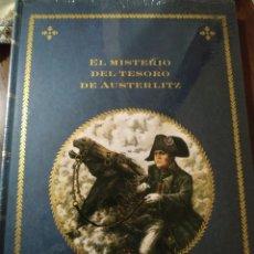 Livres: EL MISTERIO DEL TESORO DE AUSTERLITZ NAPOLEÓN FRANCIA EDELVIVES. Lote 260089140