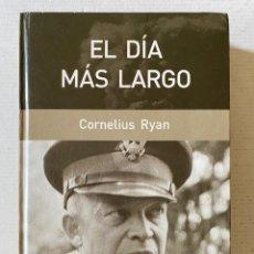 Libros: EL DÍA MÁS LARGO - CORNELIUS RYAN RBA. Lote 261800890
