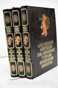 LOS GRANDES MISTERIOS DEL OCULTISMO Y DE LAS SOCIEDADES SECRETAS (3 TOMOS) (Libros Nuevos - Historia - Historia Moderna)