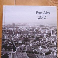 Libros: LIBRITO PART ALTA 20-21 TARRAGONA CM. Lote 269758603